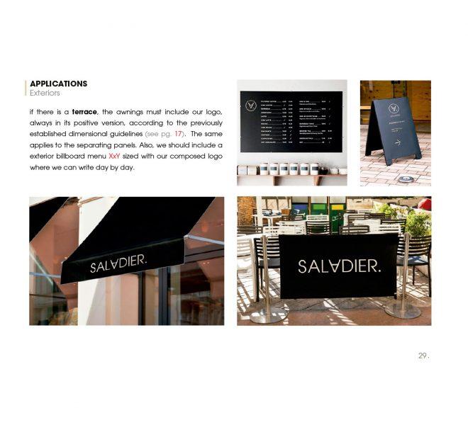 aplicativos de marca identidad en restaurantes restauración