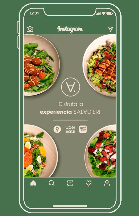 publicaciones de instagram para restaurantes integración food orders delivery