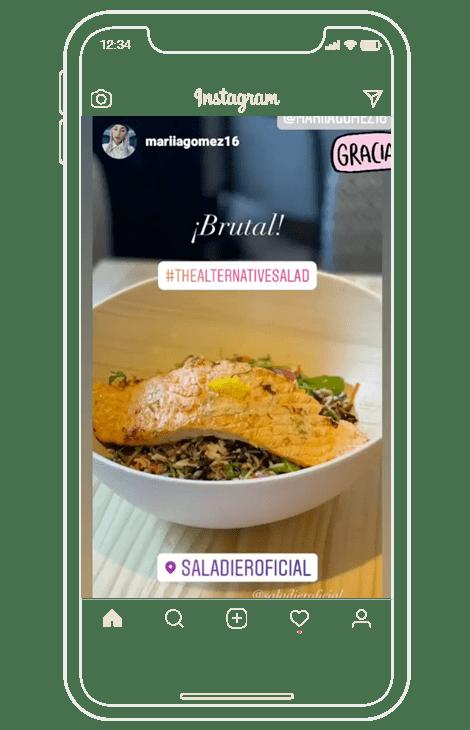 mociones e interacciones en instagram para restaurantes