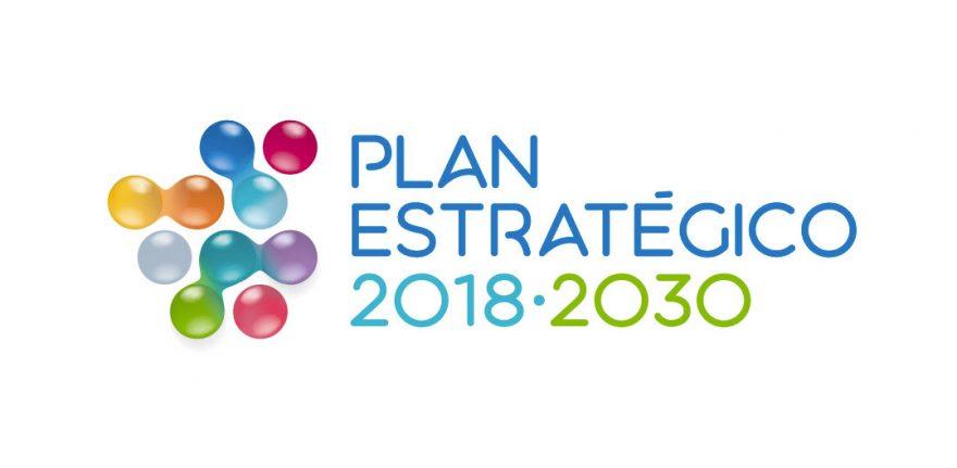 Logotipo Plan estratégico 2018 - 2030 Canal Isabel II Agencia de Branding Brandesign