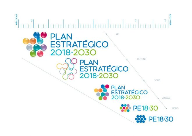 Escalas Plan Estratégico Canal Isabel II Manual de Identidad corporativa