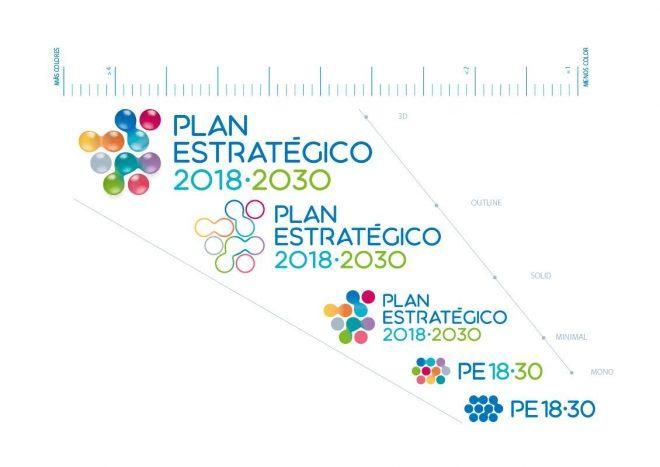 Escalas Plan Estratégico Canal Isabel II Manual de Identidad corporativa