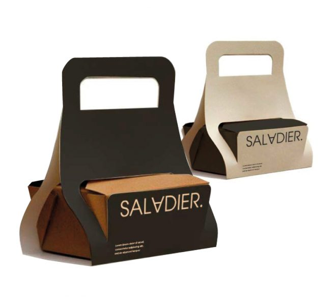 Propuestas de diseño de packaging para pedidos take away food orders delivery