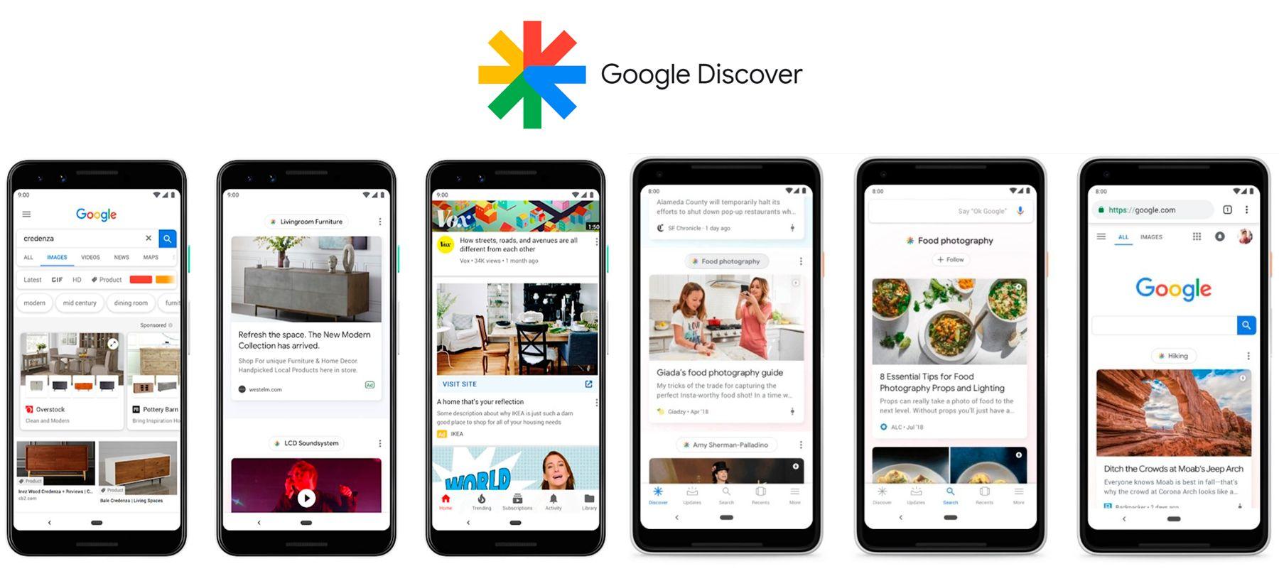 Como Google Discover te ayudará a ganar trafico en tu pagina web