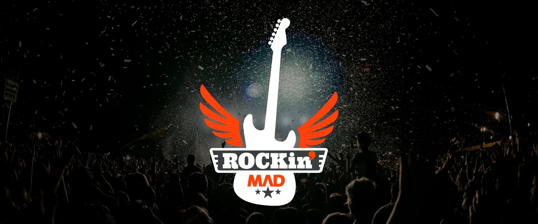 Portafolio Brandesign caso de éxito Branding escuela de rock madrid