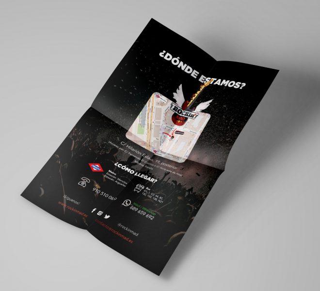 diseño de flyer a4 para impresión y publicidad