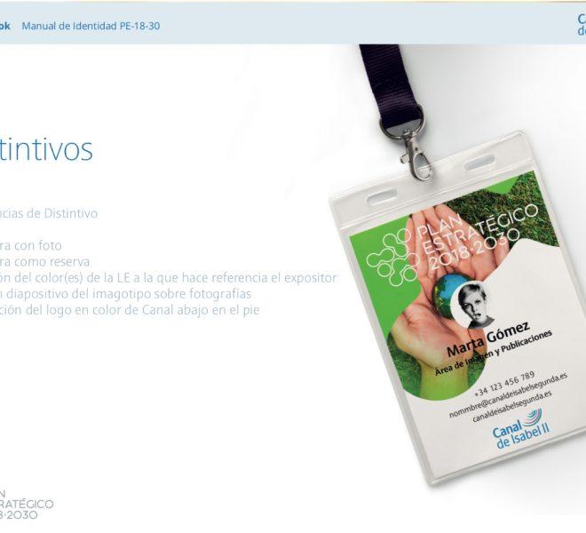 Diseño de distintivos y credenciales para eventos