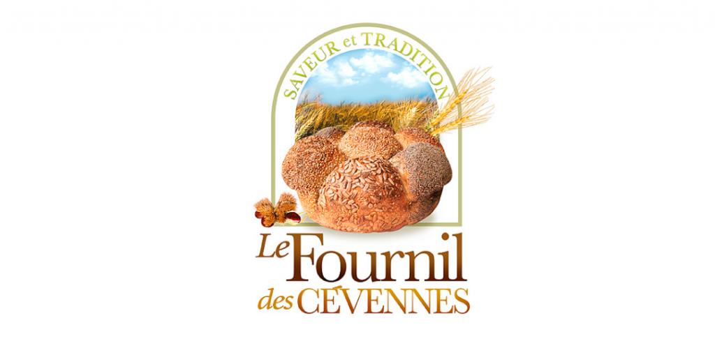 Diseño del imagotipo de Le Fournil des cevennes pacificadora en Montpellier