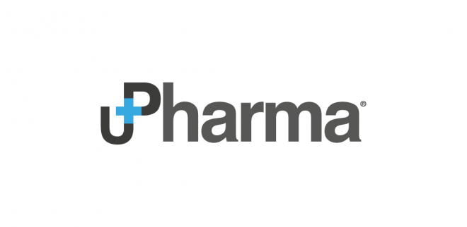 Diseño del logotipo de UP Pharma empresa farmacéutica madrid