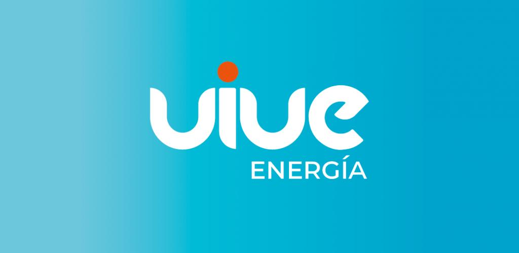 Diseño del logotipo de Vive energía eléctrica agencia de branding e identidad de marca