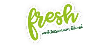 Fresh mediterranean blend marca cliente brandesign