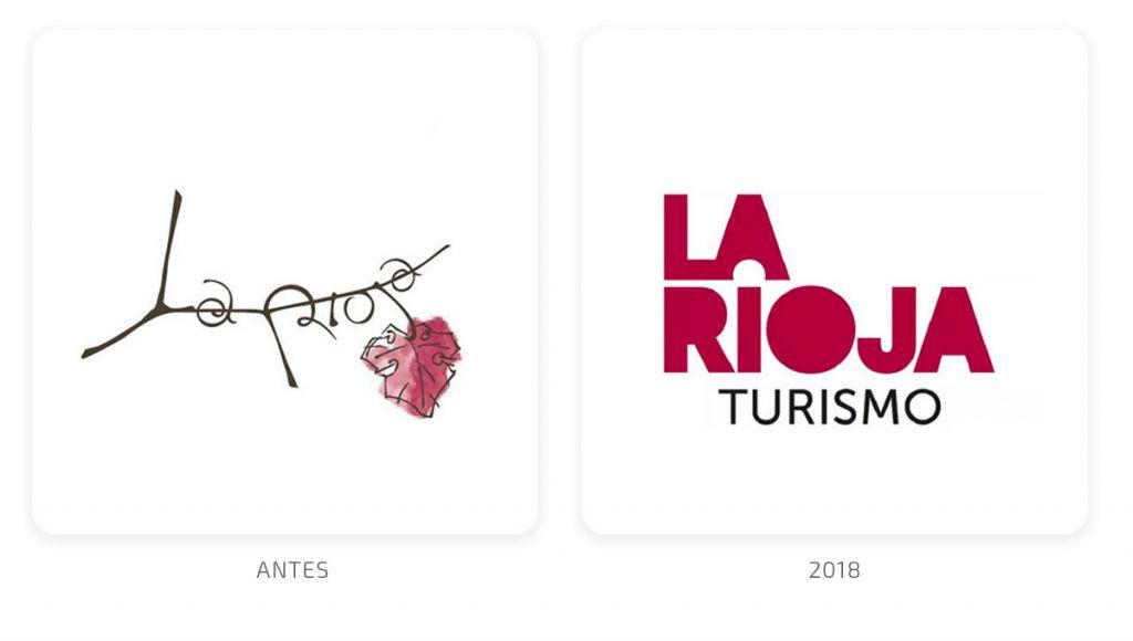 La Rioja cambio de logotipo