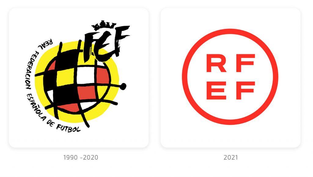 Nuevo rebranding identidad corporativa RFEF